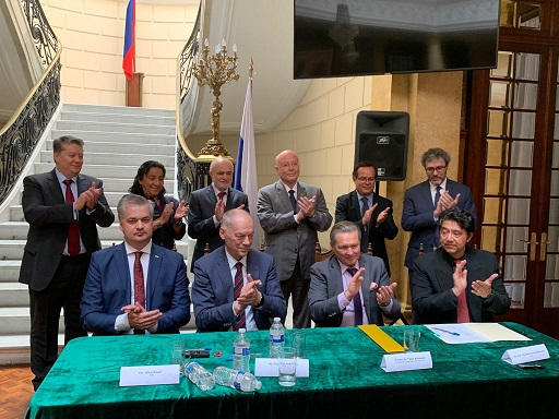 Firma la UAS convenio de colaboración con el Joint Institute for Nuclear Research